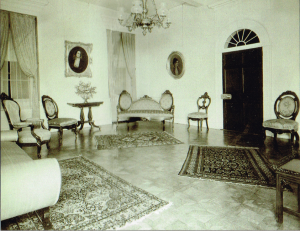 The drawing room circa 1900