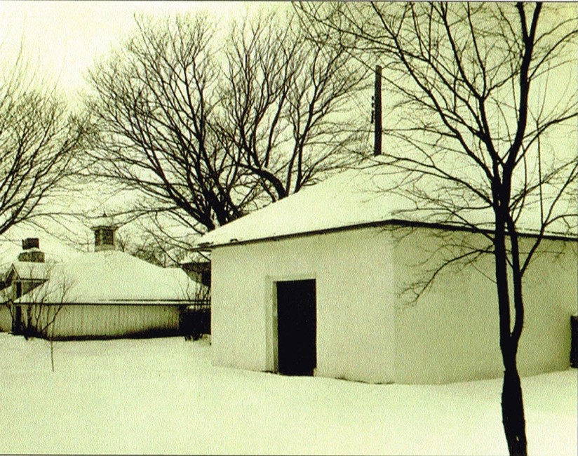 The Smoke House and Ice House