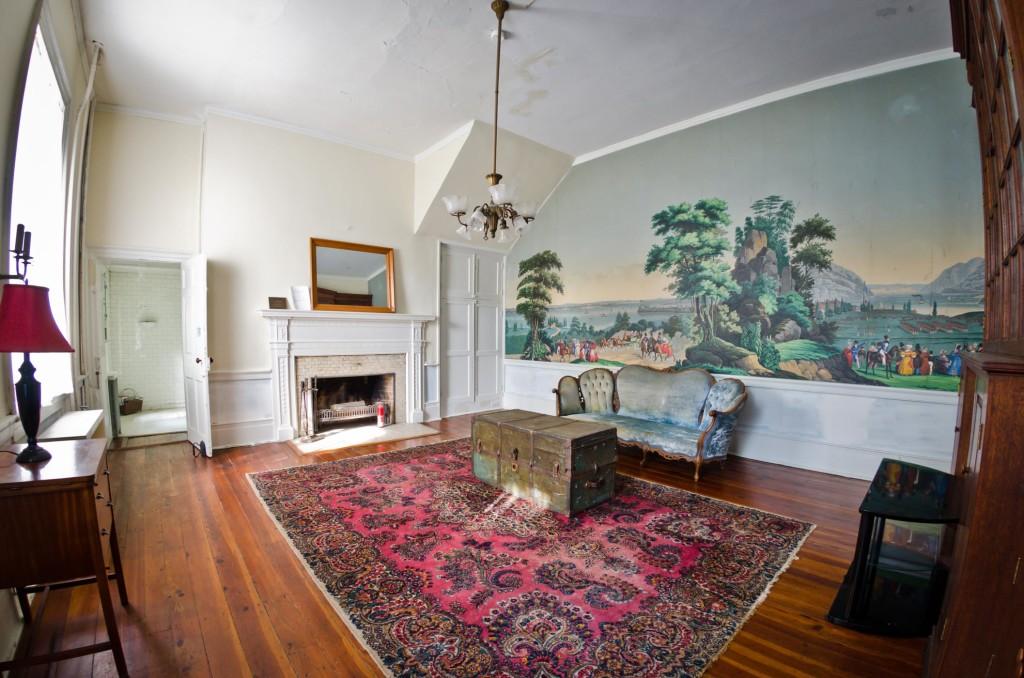 Mural room for Mural room white house